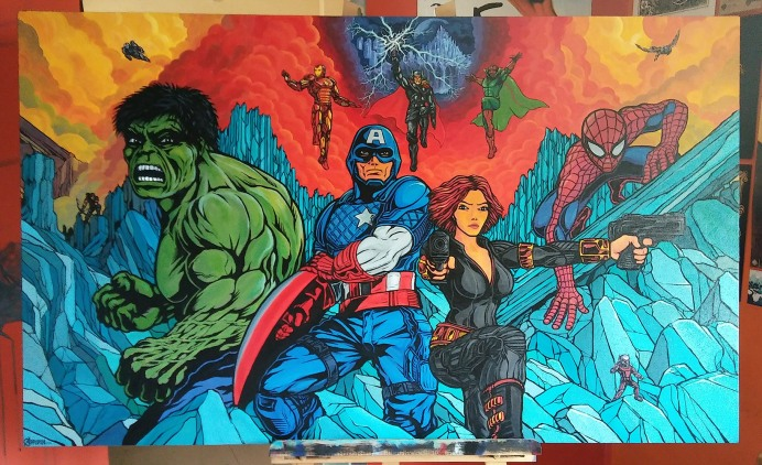 Avengers in Halahala